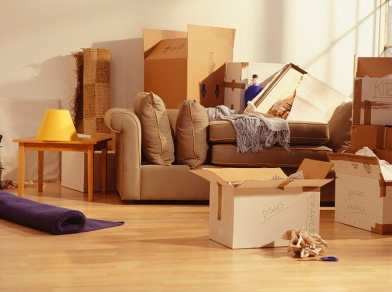 How many boxes do I need when I'm moving house?