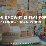 Self Storage Northern Beaches: Time for a Box | EJ Shaw Self Storage