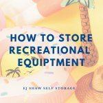 Self Storage Northern Beaches: Store Recreational Gear | EJ Shaw Self Storage