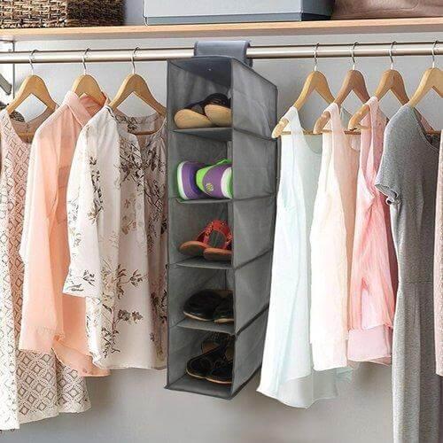 shoe hanging storage