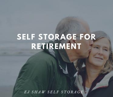 Self Storage For Retirement