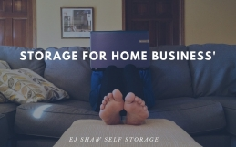 Self Storage For Home Business