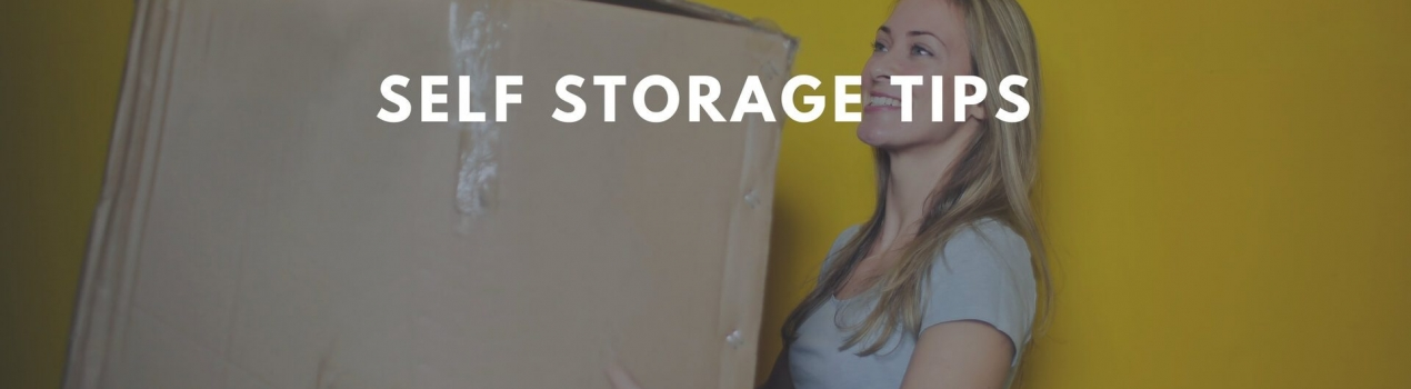 10 Tips to maximise the use of your storage unit